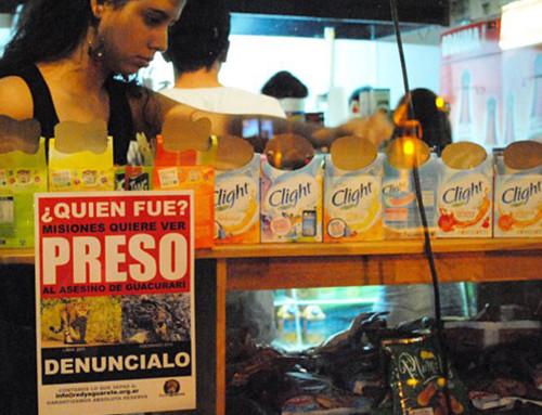 Cientos de Tigreros empapelaron Misiones exigiendo que el Asesino de Guacurarí vaya PRESO