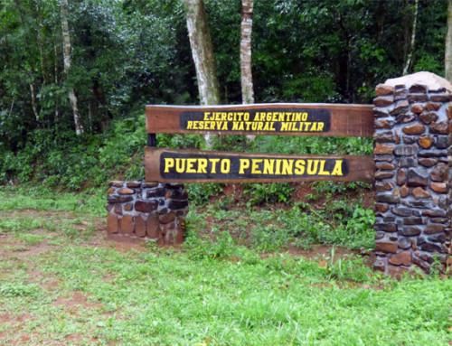 Nueva cartelería en Puerto Península