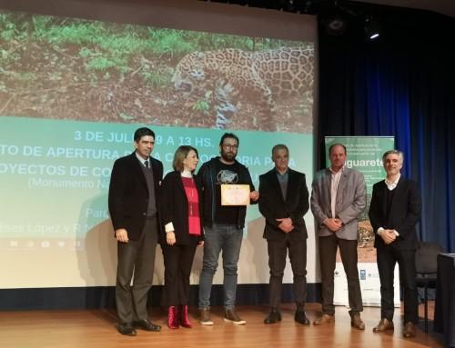 Naciones Unidas volvió a premiar a Red Yaguareté por el Programa Convivencia Yaguaretés y Personas.